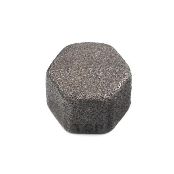 bouchon en acier noir femelle 15mm x 21mm