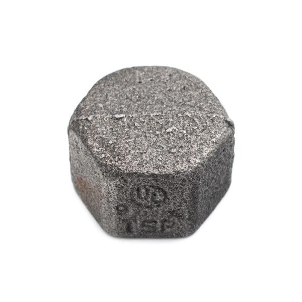 bouchon en acier noir femelle 20mm x 27mm