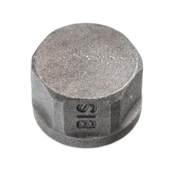 bouchon en acier noir femelle 26mm x 34mm