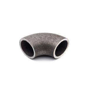 courbe court à souder 90° 3D acier galva 26,9mm