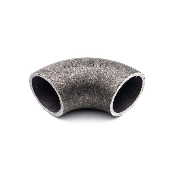 courbe court à souder 90° 3D acier galva 33,7mm