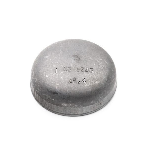 fond bombé à souder acier galva 42,4mm x 2,6mm