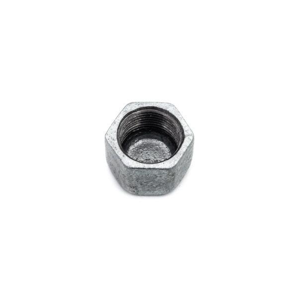 Bouchon femelle acier galva 20mm x 27mm
