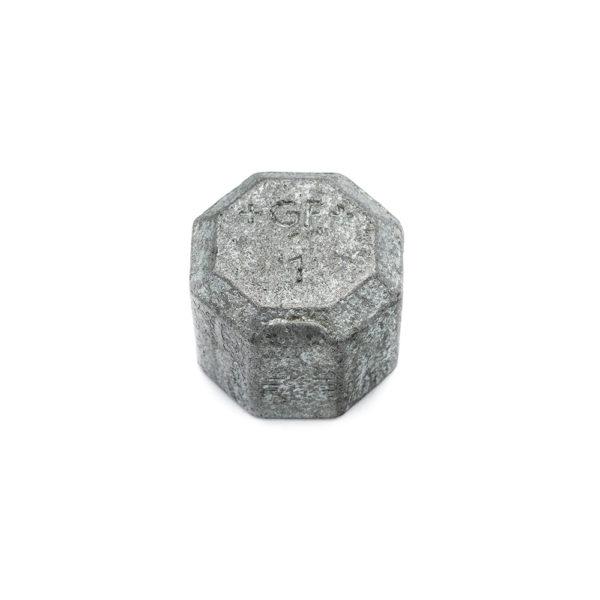 Bouchon femelle acier galva 26mm x 34mm