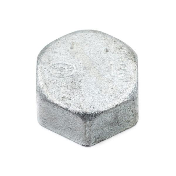 Bouchon femelle acier galva 40mm x 49mm