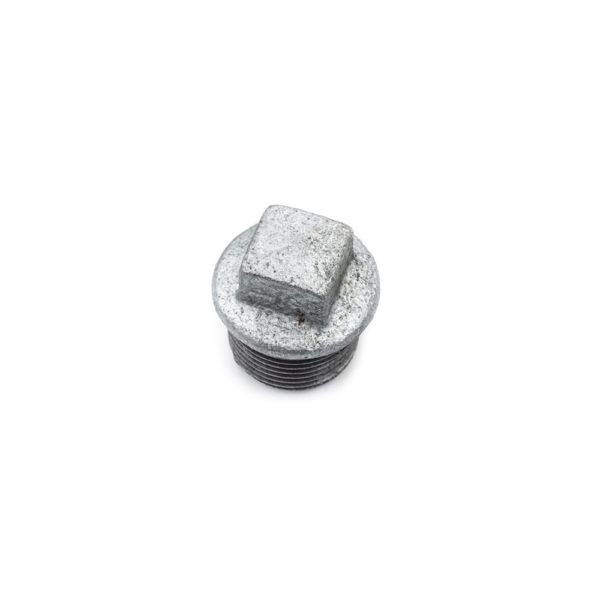 Bouchon mâle acier galva 20mm x 27mm