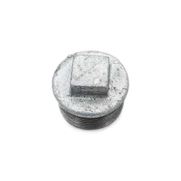 Bouchon mâle acier galva 33mm x 42mm